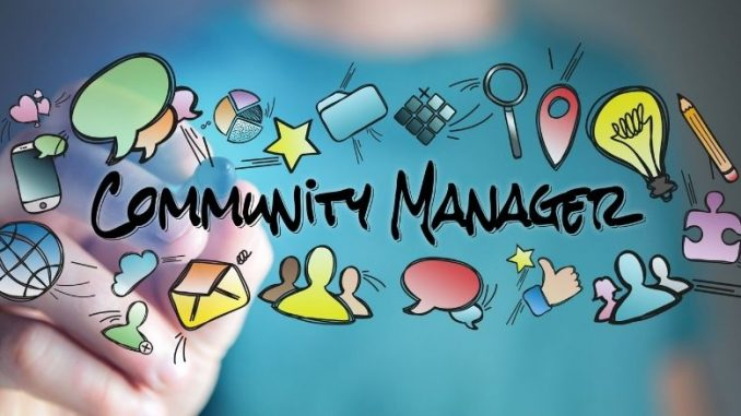 Community Manager Illustrations En Couleurs